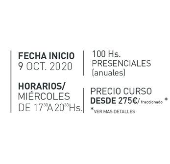 Curso Decoracion Interiores Semipresencial - Fechas